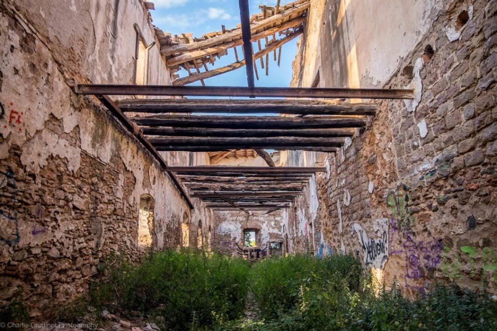 Abandoned Castle Barcelona