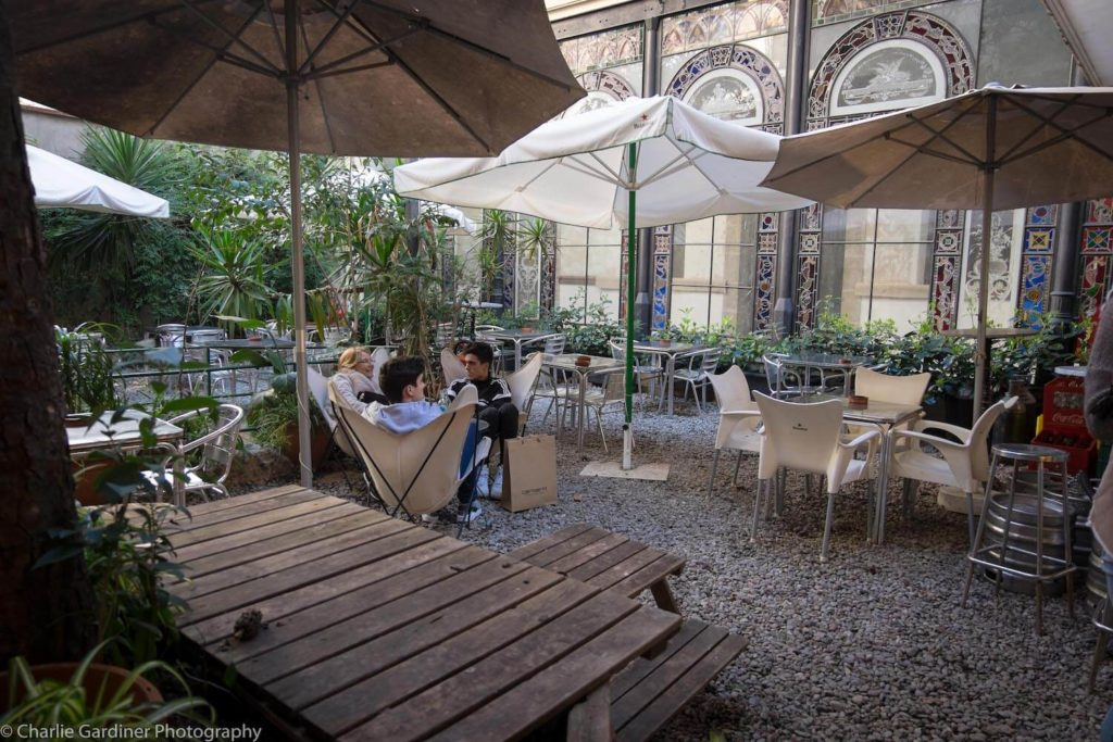 Bar Jardin Barcelona Entrada