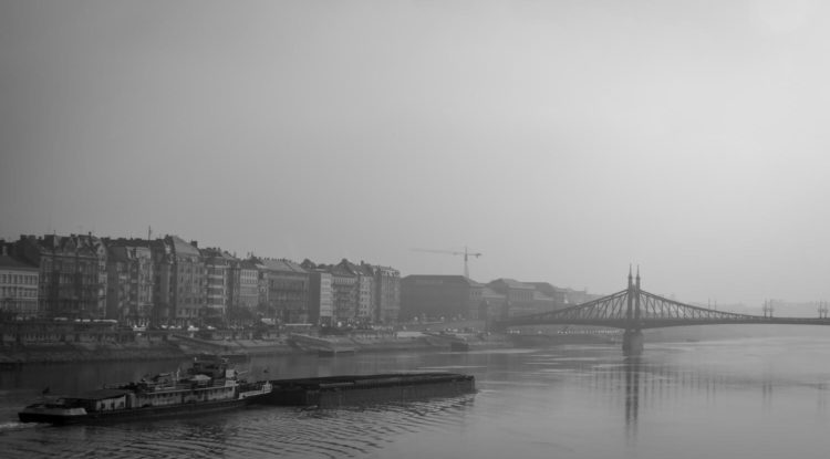 Barge on the Danube