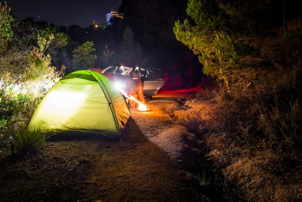 Camping in Tossa de Mar