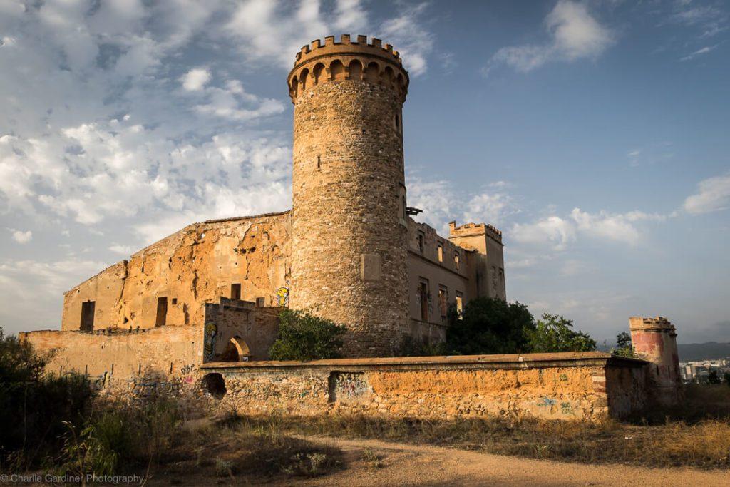 Castillo Torre Salvana Barcelona