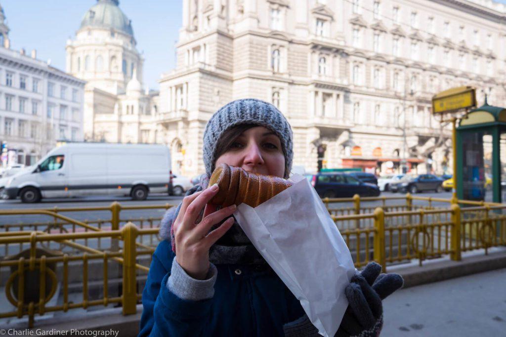 Chimney Cake in Budapest