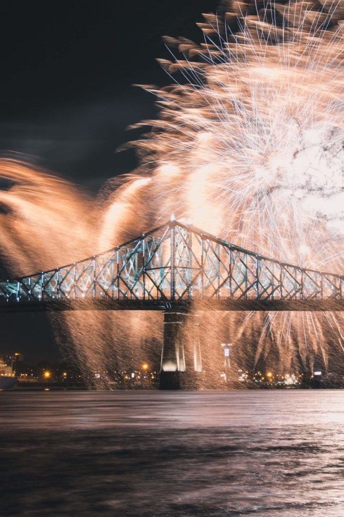 FIREWORKS in Montreal