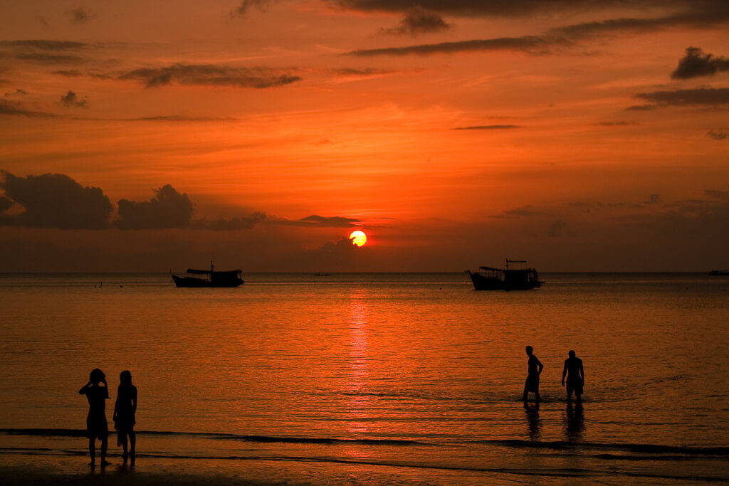 Koh Tao Sunset Featured Image