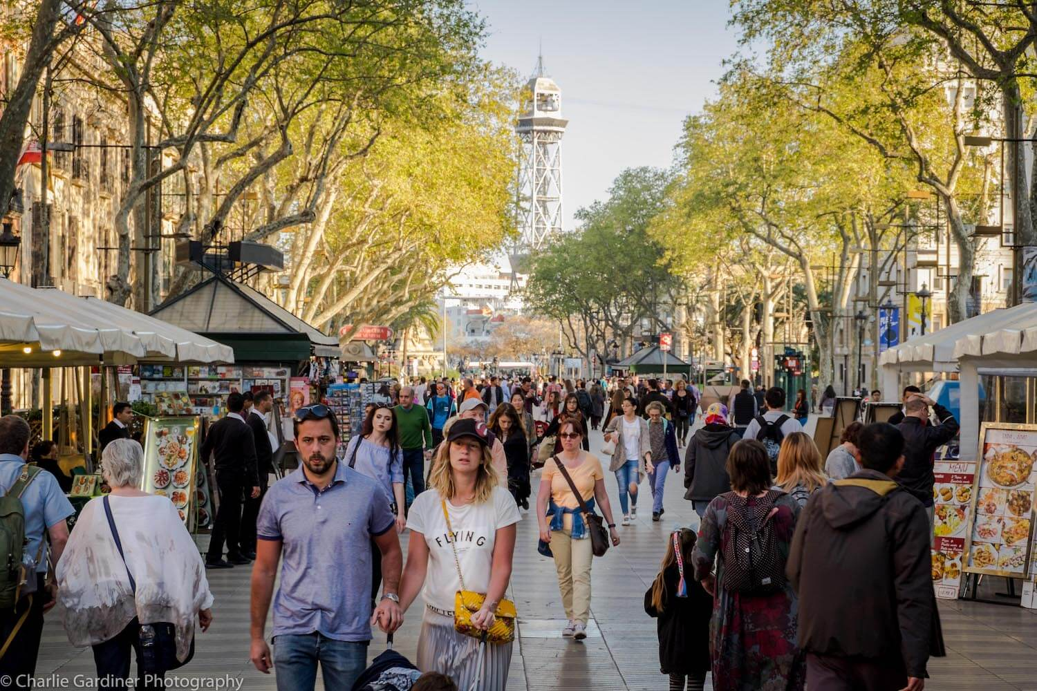 Rambla, Barcelona: attractions and photos