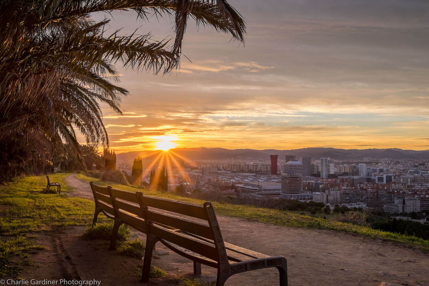 Montjuic Sunset