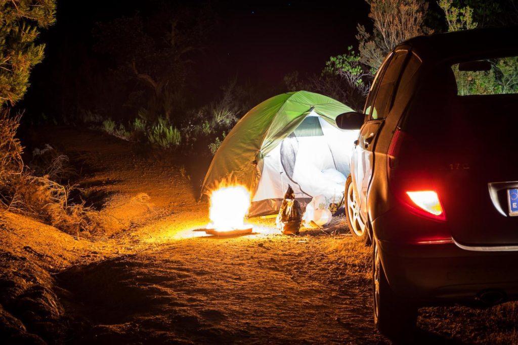 Wild Camping in Tossa de Mar