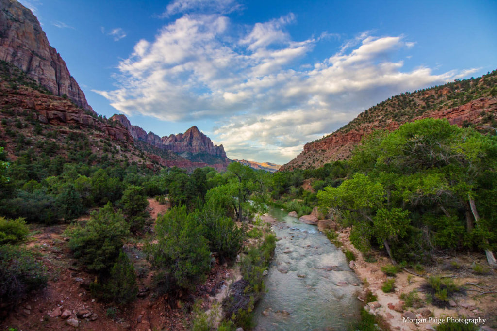 Zion National Park Closing Image