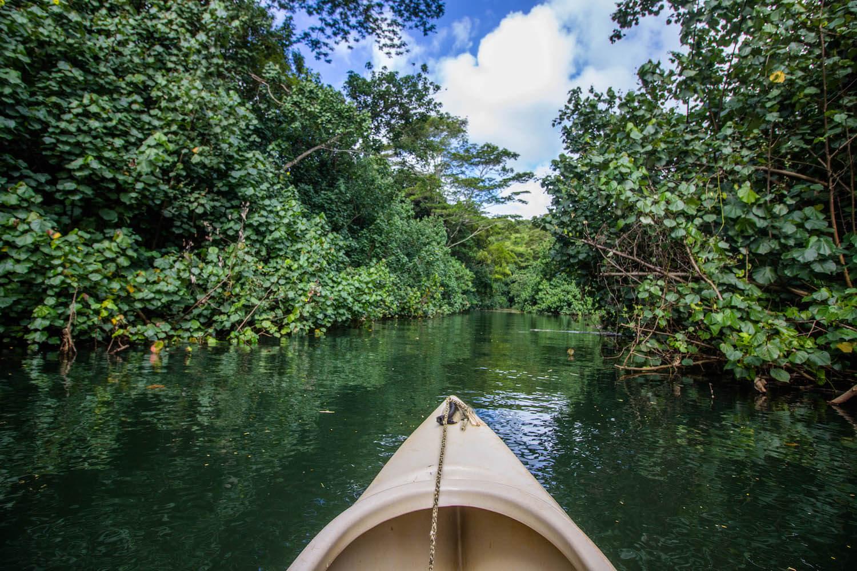 Wailua River Canoe