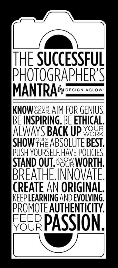 The Travel Photographer's Mantra