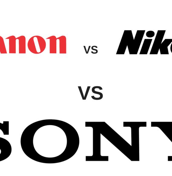 Canon vs Nikon… VS SONY! (2018)