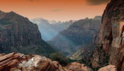 Landscape Photography – The Narrows, Zion National Park. When to use a Polarizer Filter