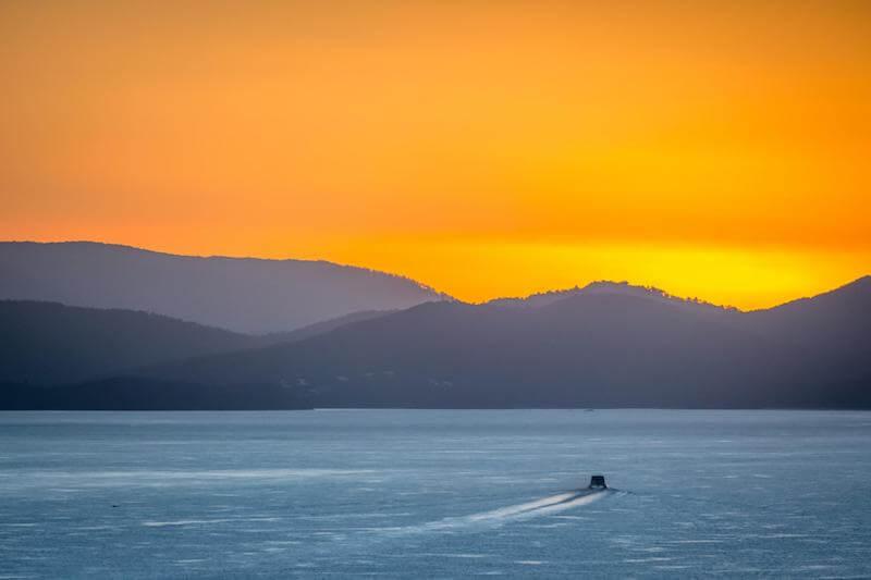 Whitsunday Islands Sunset