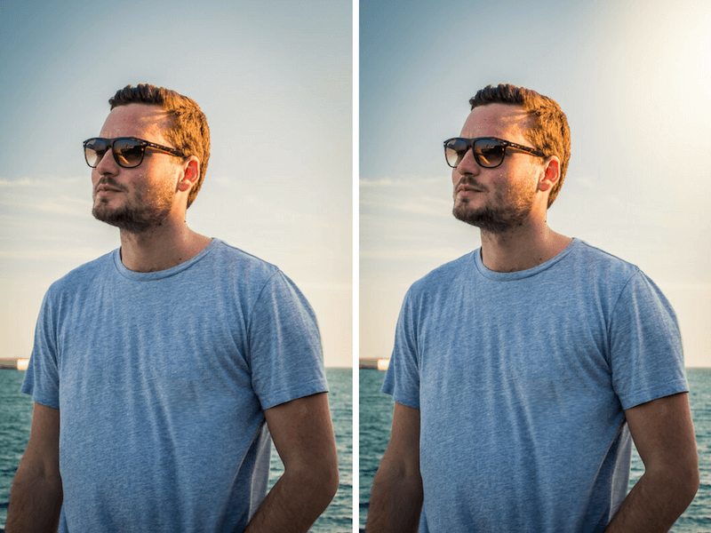 Lightroom Tricks Sunflare