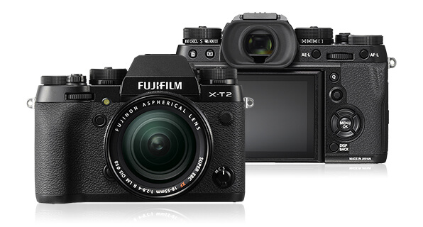 Best mirrorless cameras for travel photography Fujifilm X-T2