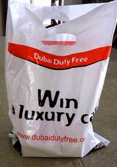 Duty free bag hack