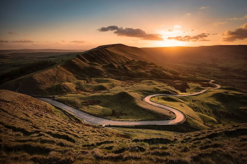 The Peak District, England
