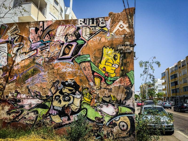 Bart Simpson Graffiti