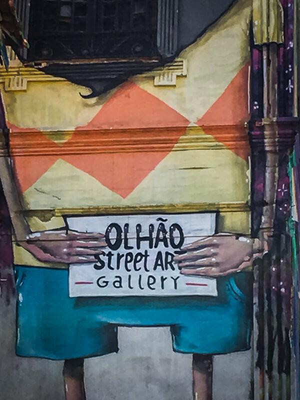 Olhão Street Art Gallery