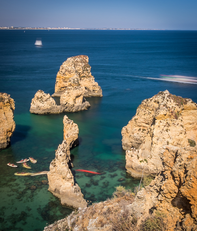 Ponte da Piedade is one of the best beaches in the Algarve