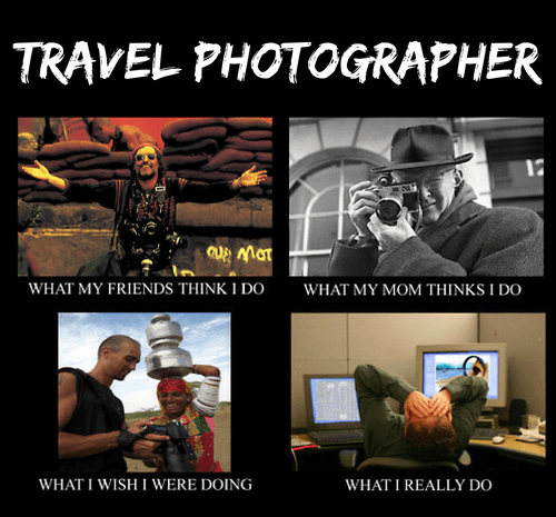 Travel Photography Meme