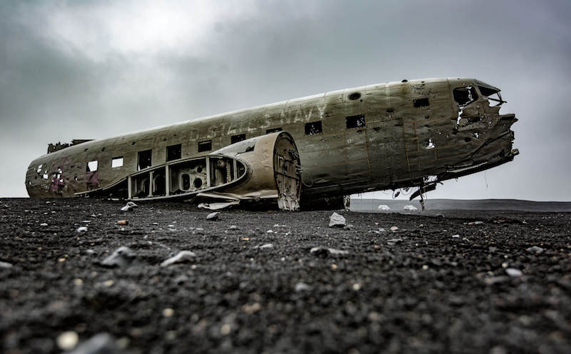 The famous Sólheimasandur abandoned plane crash