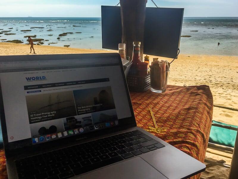 Working on Koh Lanta in Thailand