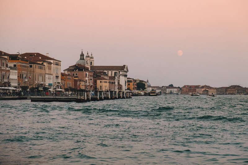 Photo of Venice at dawn