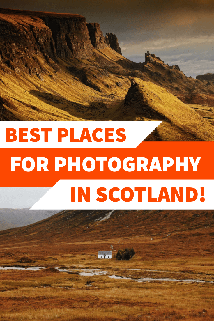Best places for photography in Scotland pin