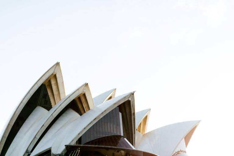 Opera House Sydney in Australia, Oceania
